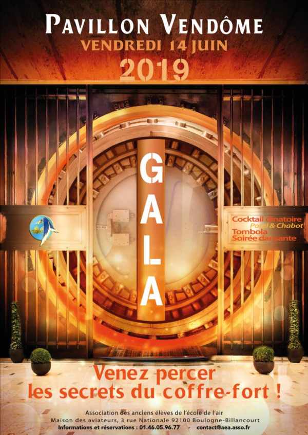 ENVIE D'UNE SOIREE D'EXCEPTION ? GALA AEA !
