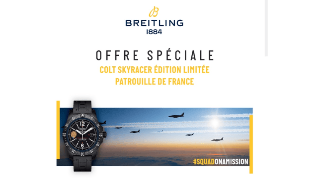 OFFRE SPECIALE BREITLING